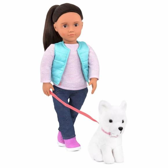 Our Generation - Cassiedukke med hund (731243)
