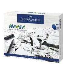 Faber-Castell - Pitt Artist Pen India ink pen, Manga Starter Sæt (167152)