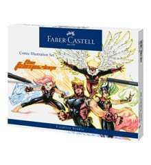 Faber-Castell - Comic Illustration set, 15 dele (167195)