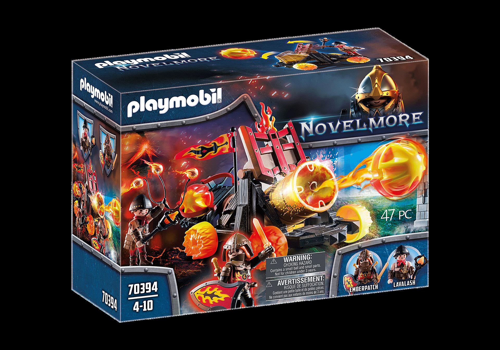 Playmobil - Burnham Raiders Lava Catapult (70394 )