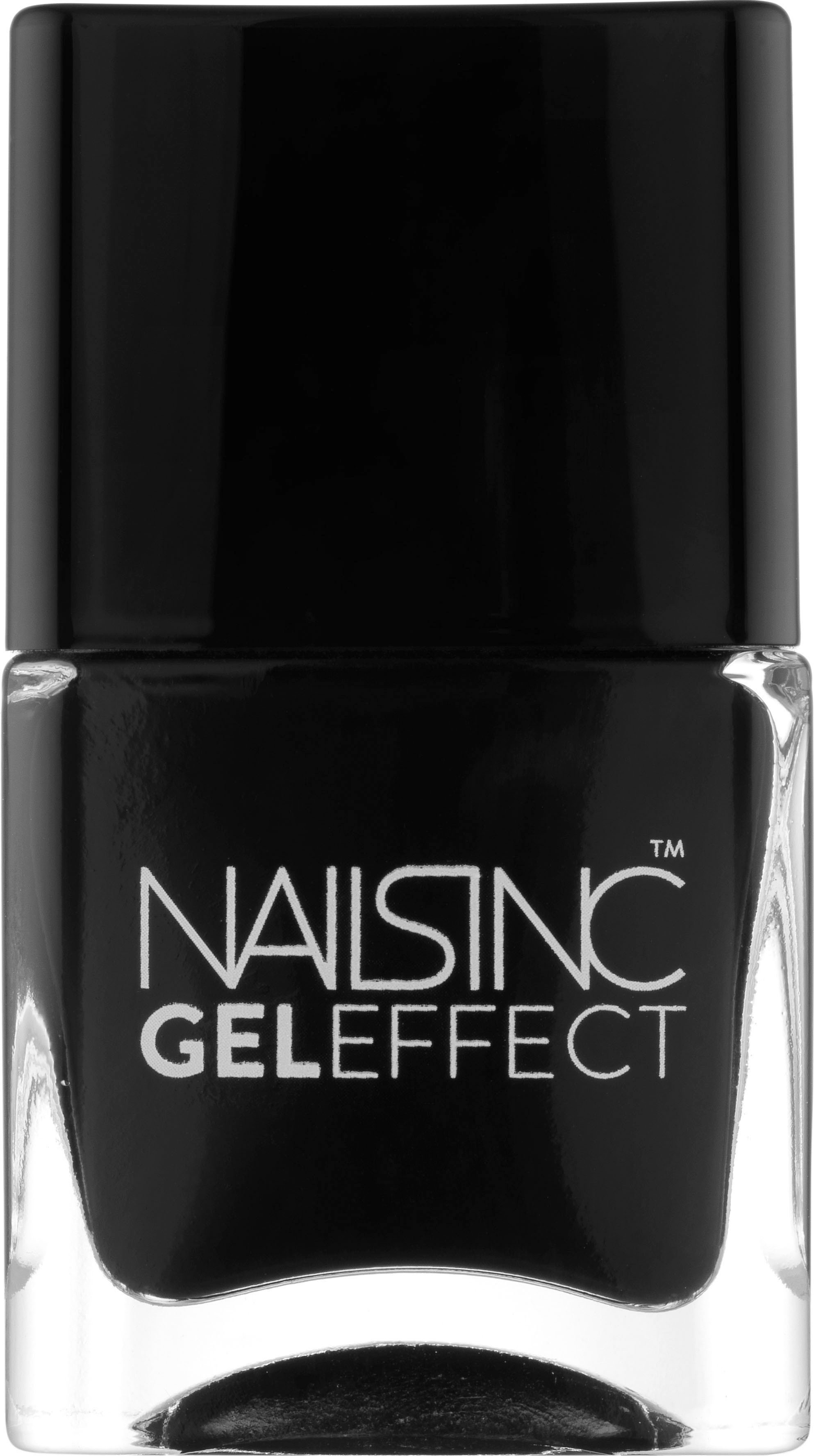 Nails Inc - Gel Effect Nail Lacquer 14 ml - Black Taxi