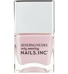 Nails Inc - Send Nudes Neglelak 14 ml - Nakey Nakey