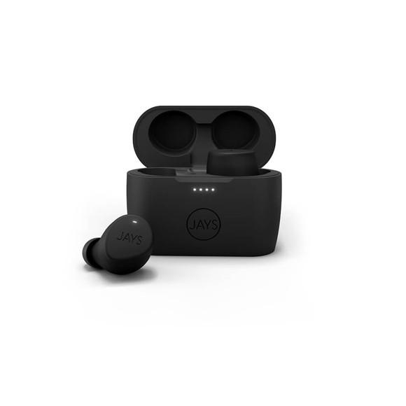 Jays - In-Ear m-Five TWS Wireless Headphones - Black
