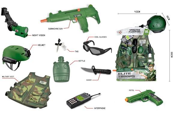 Elite Troops - Military Costume Set (520222)