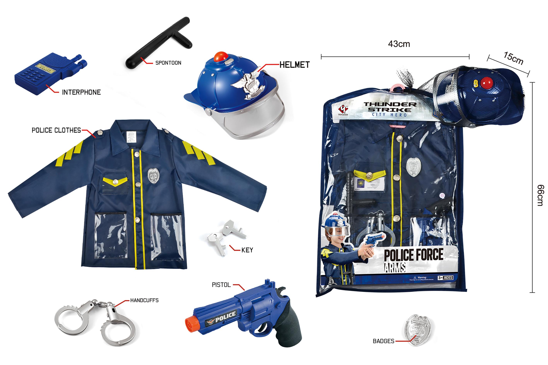 Police Force Costume Set (520223)