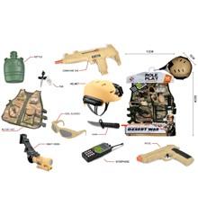 Ørken Krig - Militær Udklædnings Sæt