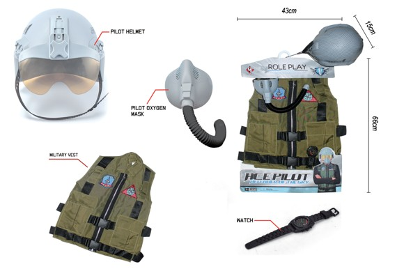 Airforce - Fighter Pilot Costume Set (520226)