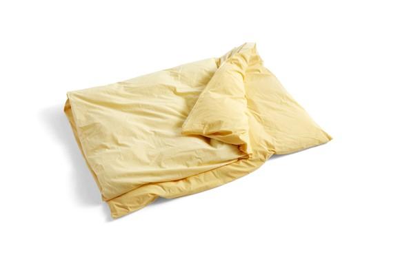 HAY - Duo Duvet Cover 140 x 200 cm - Golden Yellow (540835)