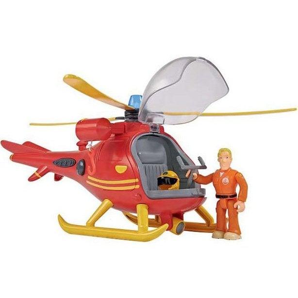 Fireman Sam - Helicopter incl. Figurine (I-109251661038)