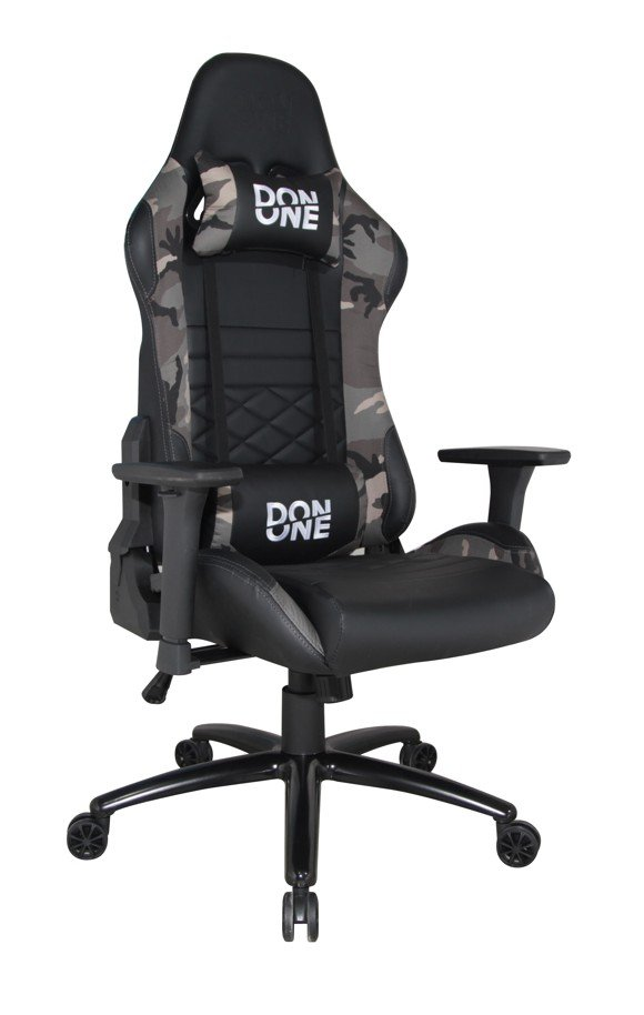 DON ONE -GC300 GAMING CHAIR Black/Camouflage