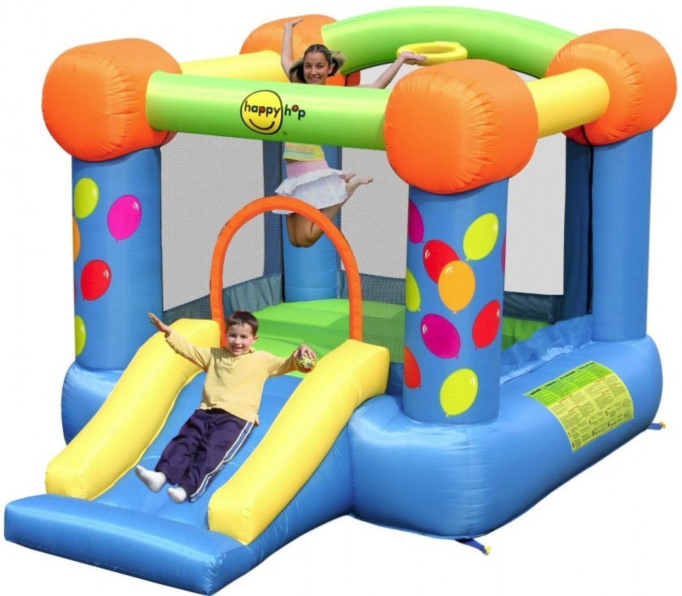 Happy Hop - Party Slide Bouncy Castle (9070)