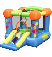 Happy Hop - Party Slide Bouncy Castle (9070)
