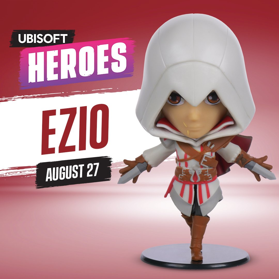 Heroes Collection - Ezio Auditore da Firenze Chibi Figure
