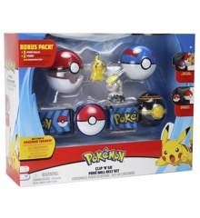 Pokemon - Clip N' Go Poke Belt Sæt Deluxe