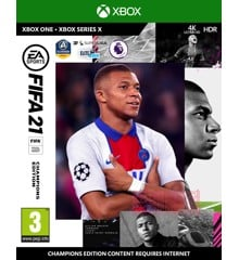 FIFA 21 (Nordic) Champions Edition - Includes XBOX Series X Version