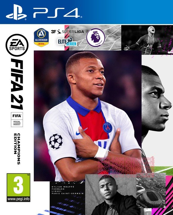FIFA 21 (Nordic) Champions Edition - Includes PS5 Version