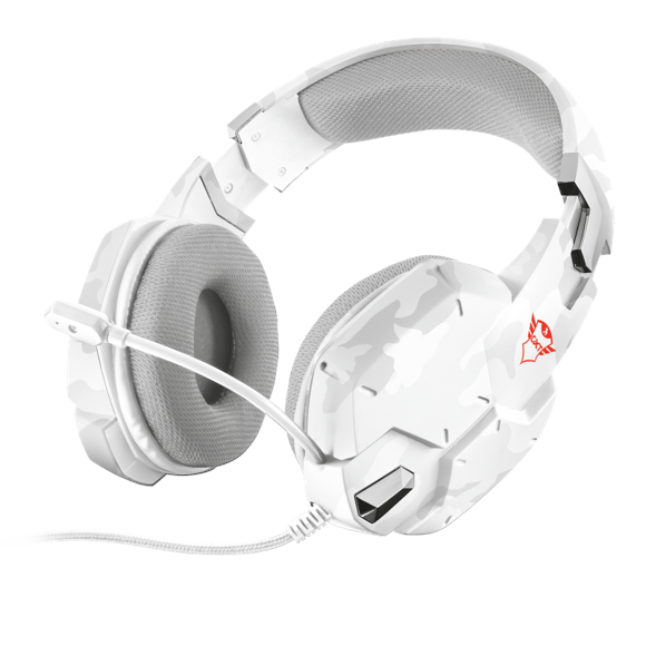 Trust GXT 322W Carus Gaming Headset - Snow Camo