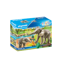 Playmobil - Enclosure with Elephants (70234)