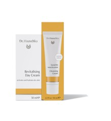 Dr. Hauschka - Revitalising Day Cream 30 ml + Cleansing Cream 30 ml - Gavesæt