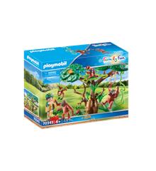 Playmobil - Orangutanger i træet (70345)