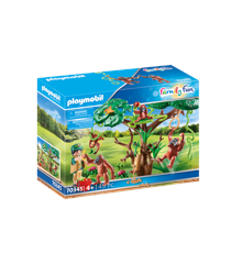 Playmobil - Orangutans in the tree (70345)