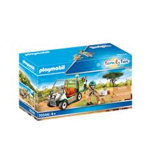 Playmobil - Zoo-dyrlæge med køretøj (70346)