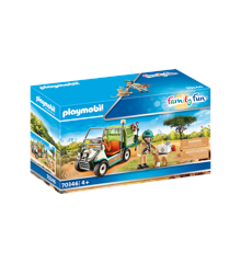 Playmobil - Zoo vet with vehicle (70346)