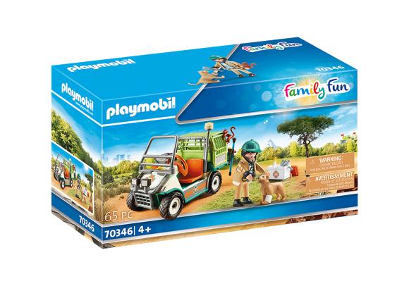 Playmobil - Zoo vet with vehicle (70346)