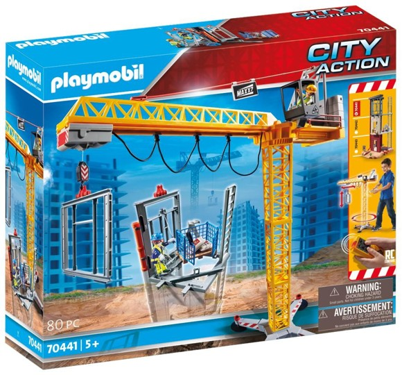 Playmobil - Crane (70441)