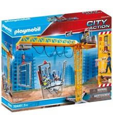 Playmobil - Fjernbetjent Kran (70441)