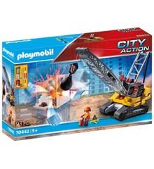 Playmobil - Gravemaskine med byggedel (70442)