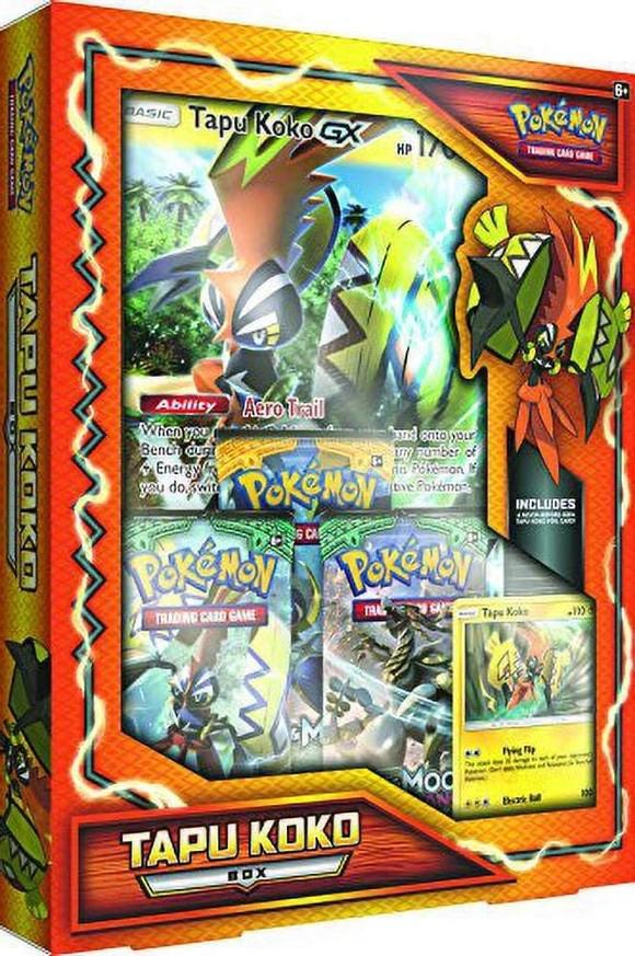 Pokemon - Tapu Koko Box (POK80283) (Pokemon Trading Cards)
