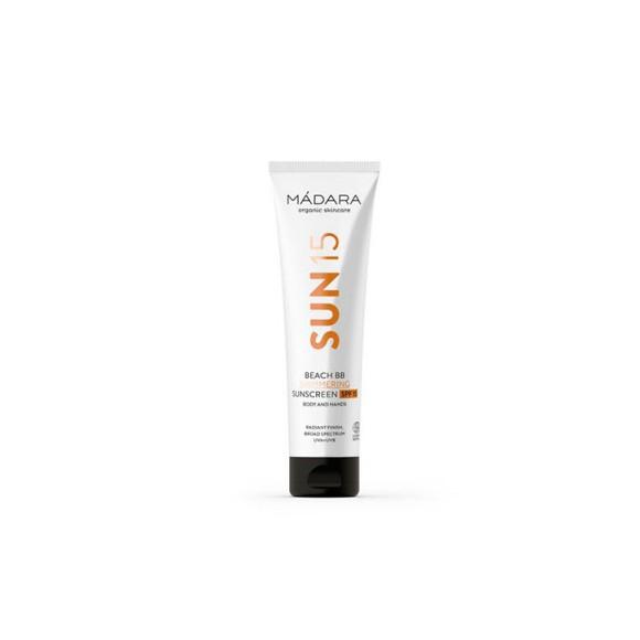 Mádara - Beach BB Shimmering Sunscreen SPF15 - 100 ml