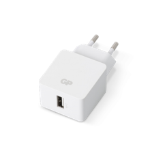 GP - USB Wall Charger - White (1 x USB A) (405131)