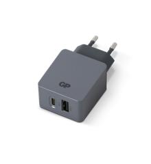 GP - Vægoplader WA51 - USB-A + USB-C