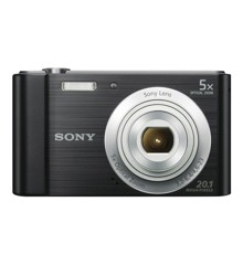 Sony - W800 Compact Camera 5x Optic Zoom  - Black