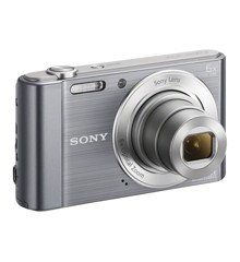 Sony - W810 Compact camera 6x Optic Zoom - Silver