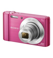 Sony - W810 Compact camera 6x Optic Zoom - Pink