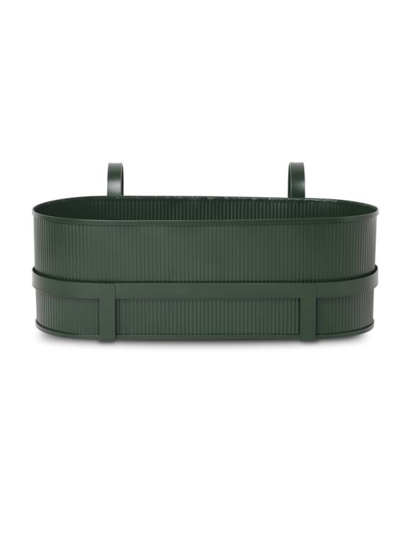 Ferm Living - Bau Balcony Box - Dark Green (100020408)