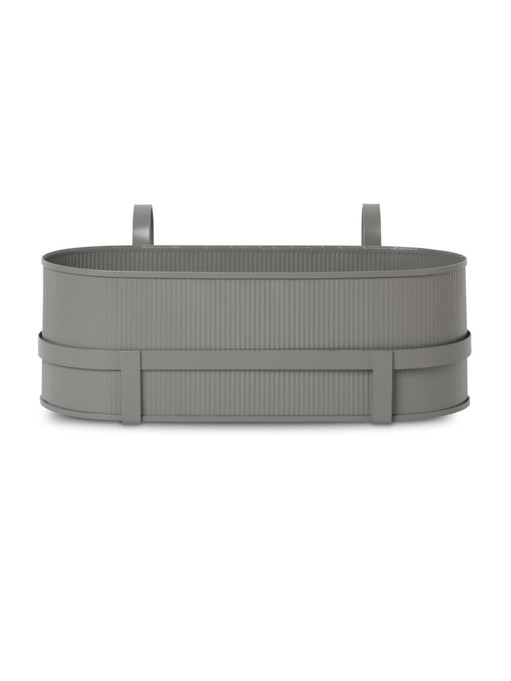 Ferm Living - Bau Balcony Box - Warm Grey (100020111)