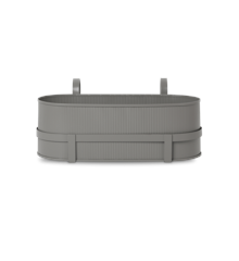 Ferm Living - Bau Balcony Box - Warm Grey (100020111)