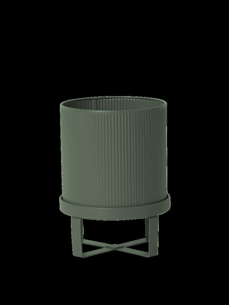 Ferm Living - Bau Pot Small - Dark Green (100203408)