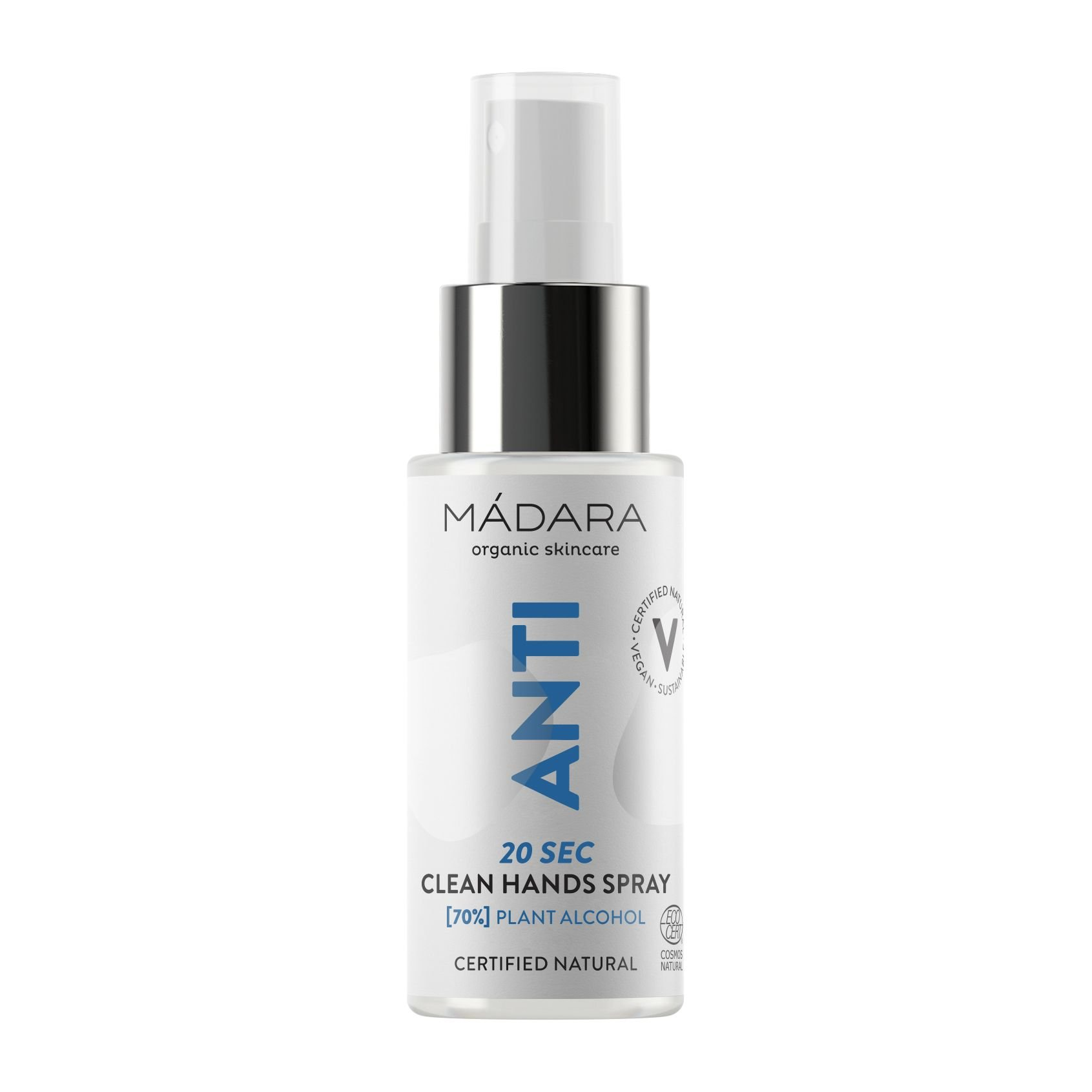Mádara - Anti 20 Sec Clean Hands Spray
