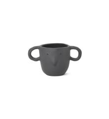 Ferm Living - Mus Plant Pot Small - Dark Grey (100099104)