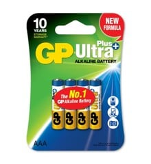 GP - Ultra Plus Alkaline - AAA Batteri
