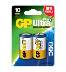 GP - Ultra Plus Batteries - C (151123)