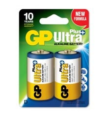 GP - Ultra Plus Alkaline - D Batteri