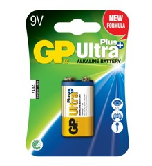 GP - Ultra Plus Alkaline - 9V Batteri