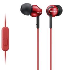 Sony - MDR-EX110-AP Casual In-Ear Headphones - Red