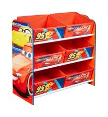 Disney Cars - Kids Toy Storage Unit (471CAA01E)